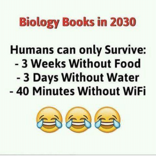 Biology Books In 2030 Humans Can Only Survive 3 Weeks Without Food 3