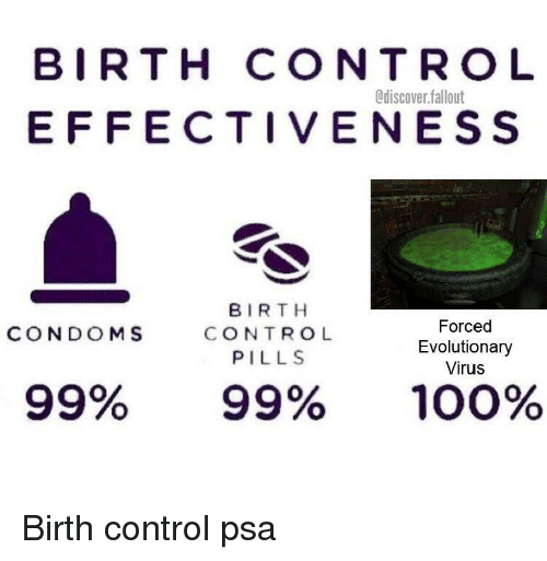 BIRTH CONTRO L EFFECTIVENESS Odiscoverfallout BIRTH CONTROL PILLS