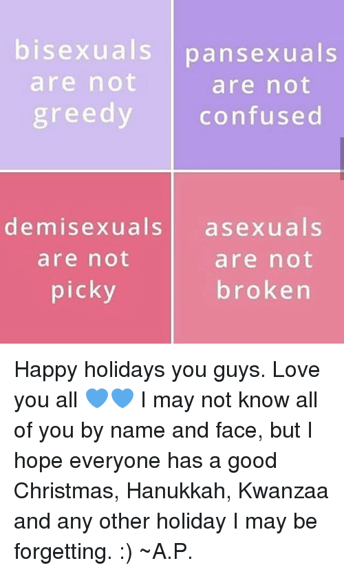 All sexuals