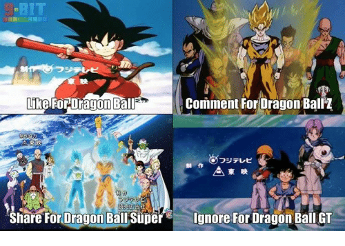 Bit Like For Dragon Ball Comment For Dragon Ball Z Share For Dragon