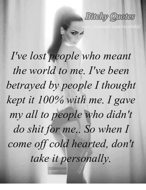 Bitchy Quotes Glamorous Bitchy Quotes Rcom Royaleht I've Lost People Who Meant The World