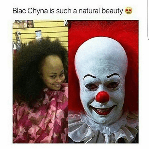 Blac Chyna, Memes, and 🤖: Blac Chyna is such a natural beauty