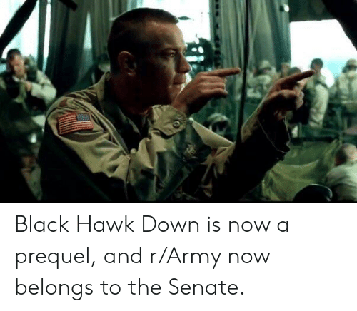 Black Hawk Down Is Now a Prequel and rArmy Now Belongs to