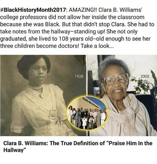 Memes, Classroom, and 🤖: #Black History Month2017: AMAZING!! Clara