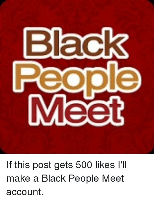 Blackpeoplemeet account