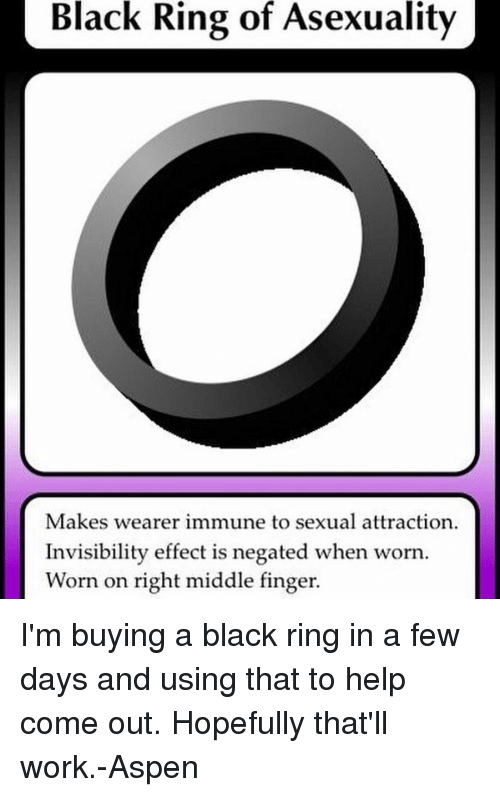 Asexual ring finger