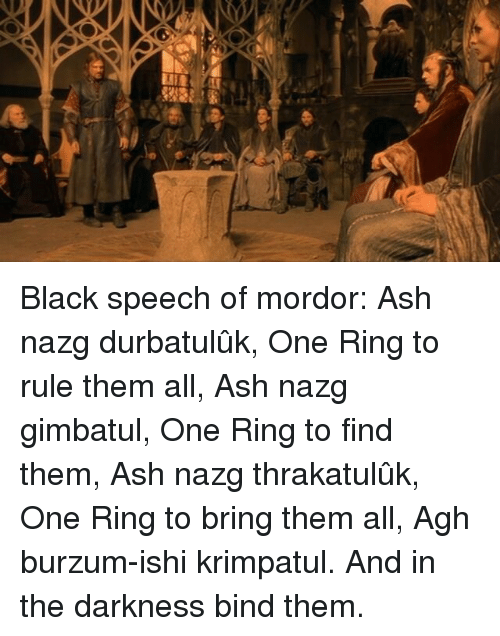25 Best Memes About One Ring To Rule One Ring To Rule Memes