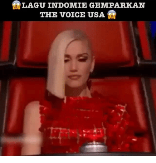 The Voice, Voice, and Indonesian (Language): BLAGUINDOMIE GEMPARKAN  THE voICE USA