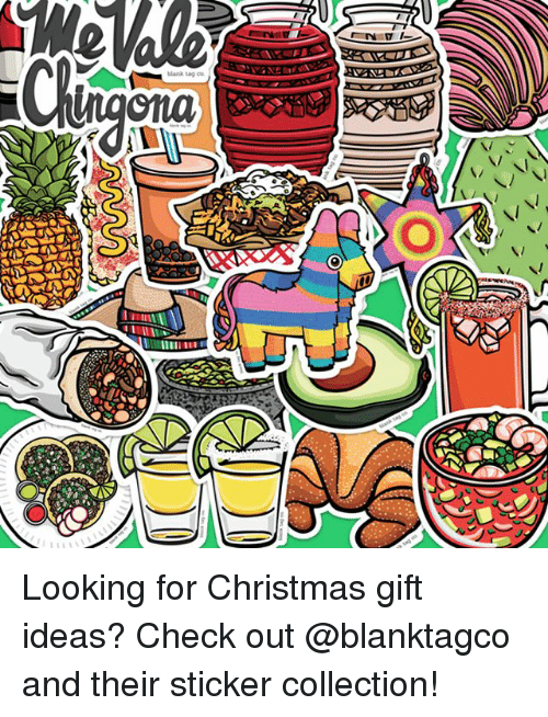 Christmas, Memes, and Blank: blank tag co Looking for Christmas gift ideas? Check out @blanktagco and their sticker collection!