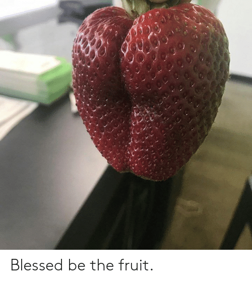 Blessed, Dank, and 🤖: Blessed be the fruit.