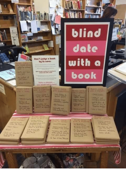 blind dating fanfic