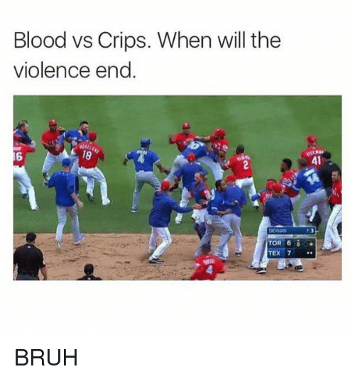 Blood Vs Crips When Will The Violence End Tor 6 Tex 7 41 Bruh
