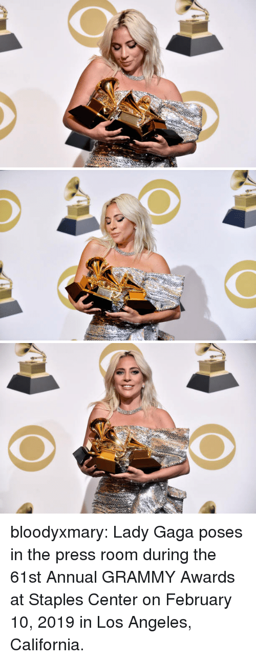 Grammy Awards, Lady Gaga, and Target: bloodyxmary:  Lady Gaga poses in the press room during the 61st Annual GRAMMY Awards at Staples Center on February 10, 2019 in Los Angeles, California.