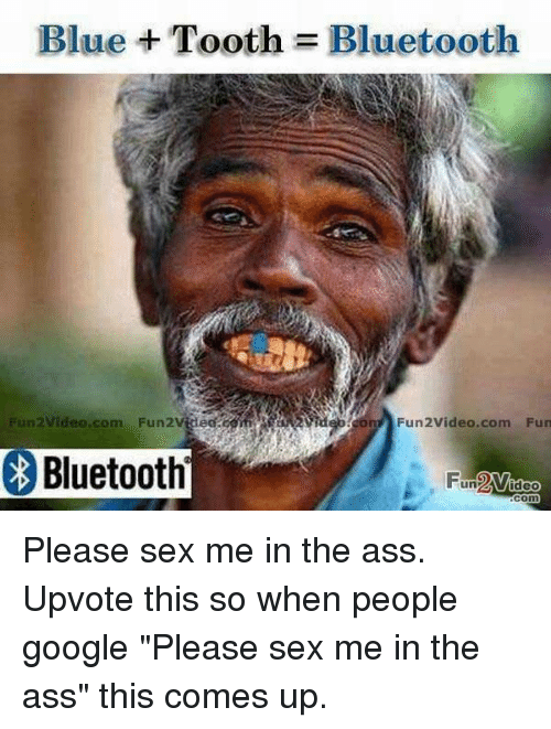 Blue sex tooth