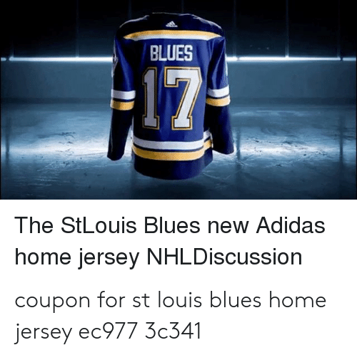best cheap bd969 8259c BLUES the StLouis Blues New Adidas Home Jersey NHLDiscussion ...