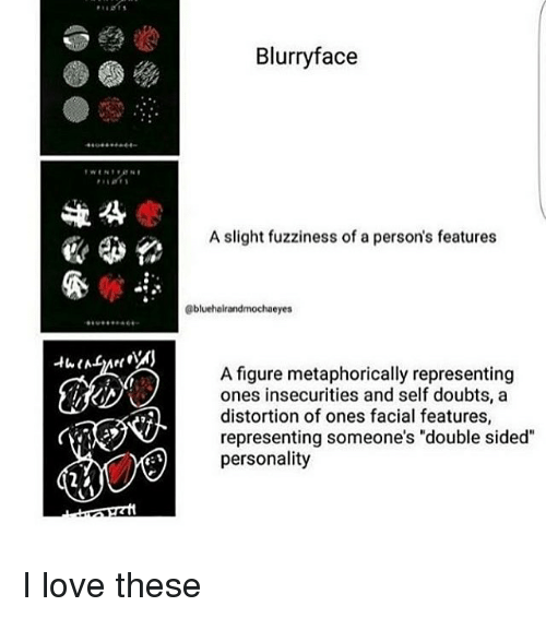 Blurry Face a Slight Fuzziness of a Person's Features Eyes a