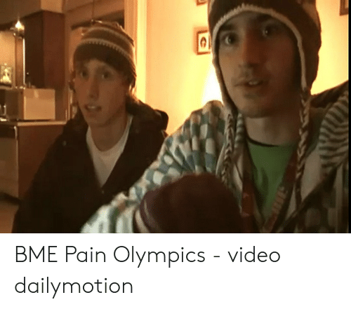 Bme pain olympic official video link