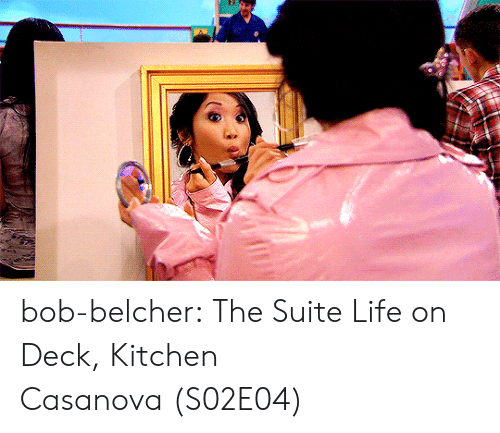 Life, Tumblr, and Blog: bob-belcher:  The Suite Life on Deck, Kitchen Casanova (S02E04)