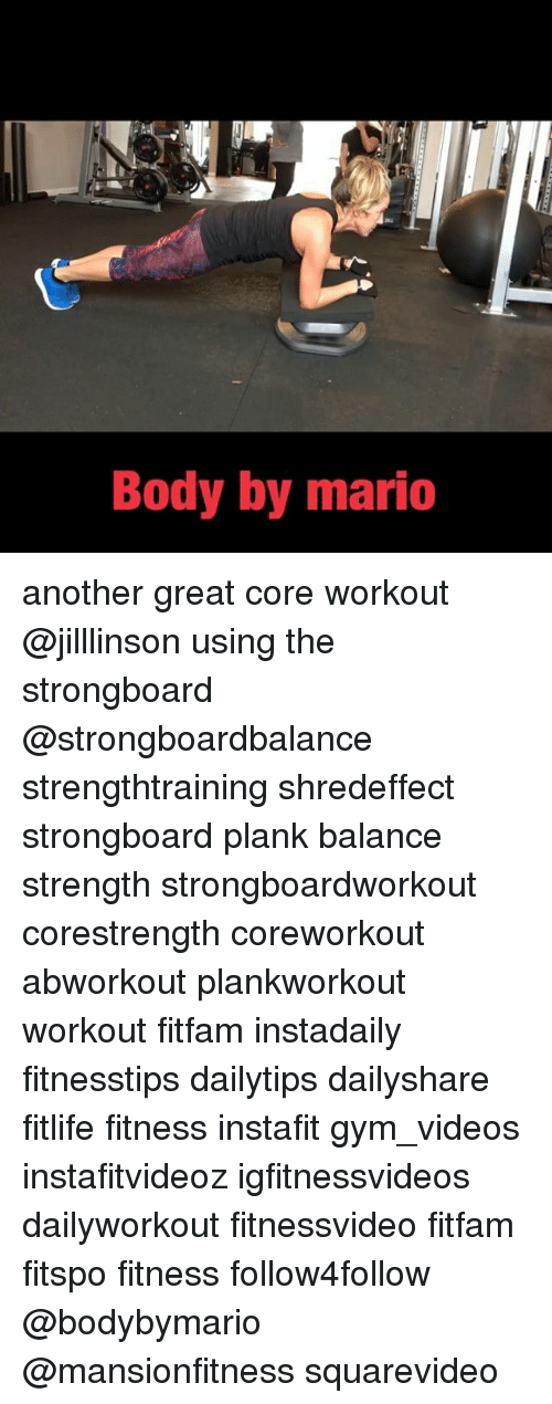Another great work out
