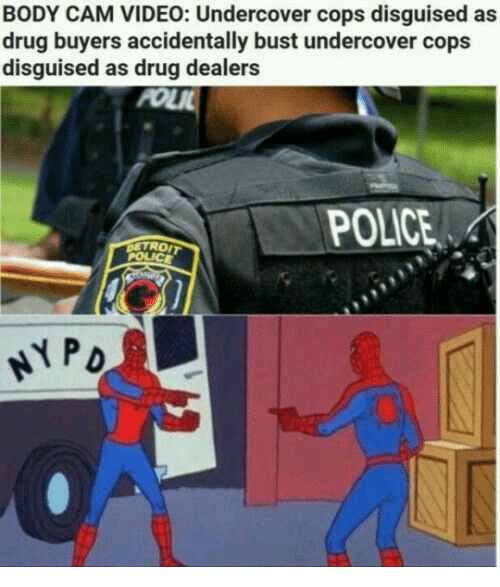 Police, Video, and Drug: BODY CAM VIDEO: Undercover cops disguised as  drug buyers accidentally bust undercover cops  disguised as drug dealers  PO  POLICE  TROIT