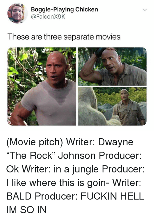 Boggle Playing Chicken These Are Three Separate Movies Movie Pitch