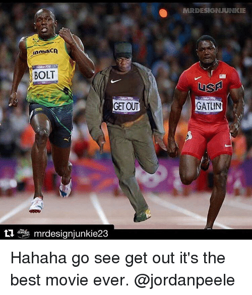 Image result for get out movie running meme