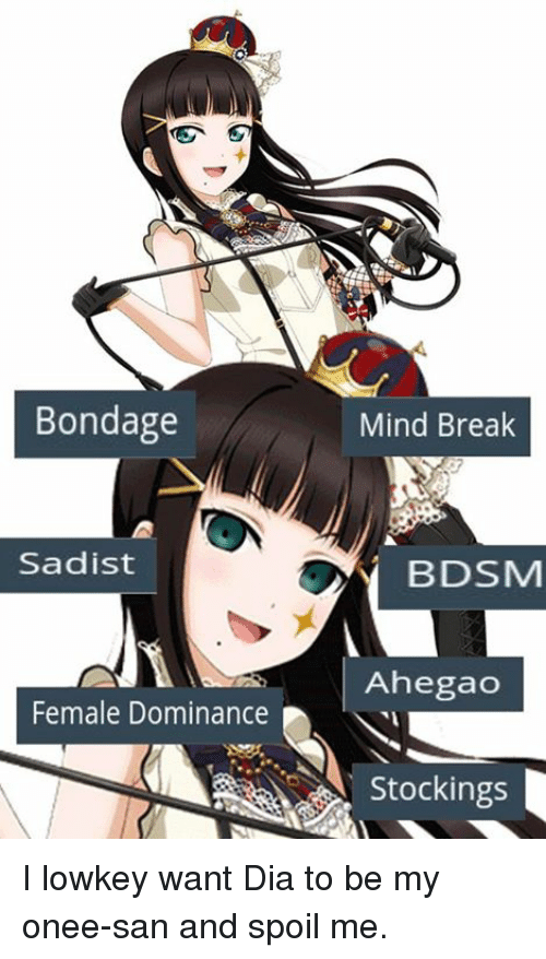 Anime female domination