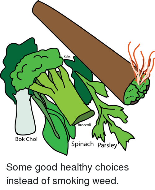 Book Choi Kale Broccoli Spinach Parsley Some Good Healthy