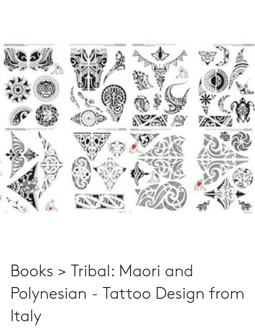 Books > Tribal Maori and Polynesian - Tattoo Design From Italy ...