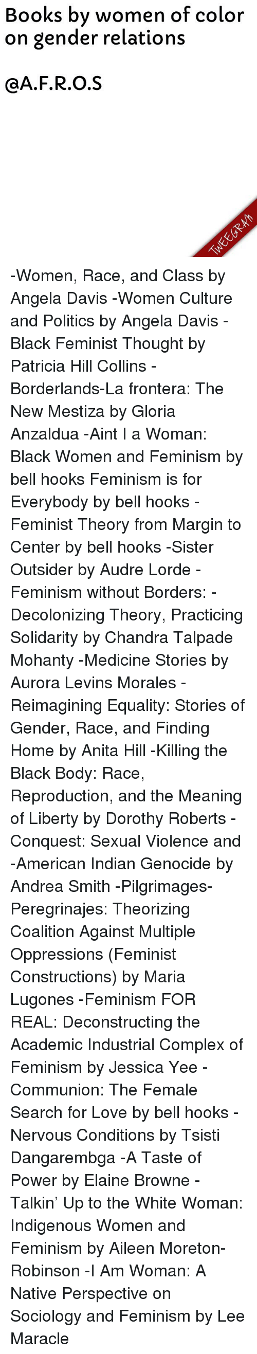 Books By Women Of Color On Gender Relations Cafros Women Race And