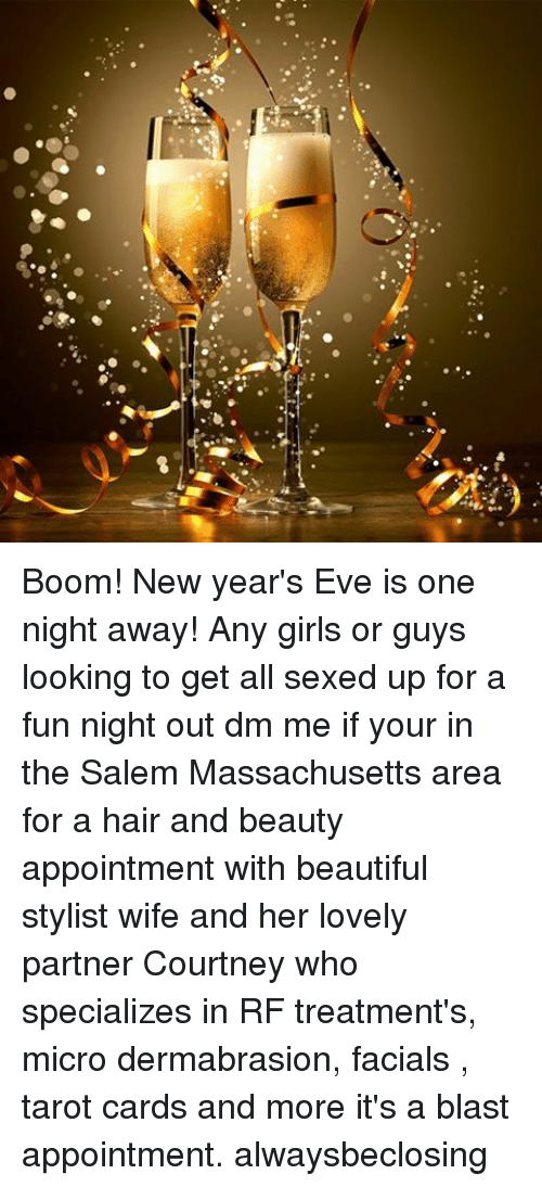 Boom! New Year\'s Eve Is One Night Away! Any Girls or Guys Looking to ...