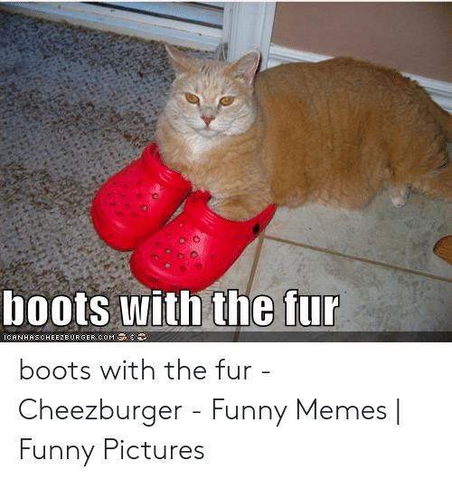 Boots With the Fur ICANHASCHEE2EURGER COM Boots With the Fur