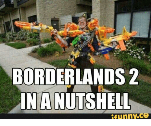 BORDERLANDS 2 IN a NUTSHELL Funny | Borderlands Meme on ME ME