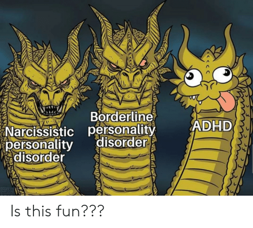 Borderline Narcissistic Personality Disorder ADHD