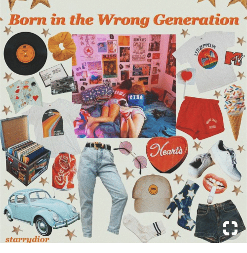 Pink, Runaways, and Born: Born in the Wrong Generation  RUNAWAYS  PINK  1990  starrydior