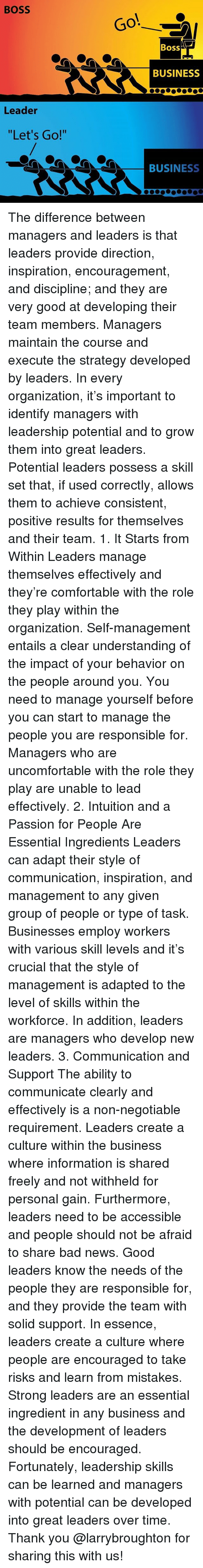 managers should adapt their leadership style Team members were turned off by his rigid management style could better feel their leadership to adapt his leadership style to improve his.