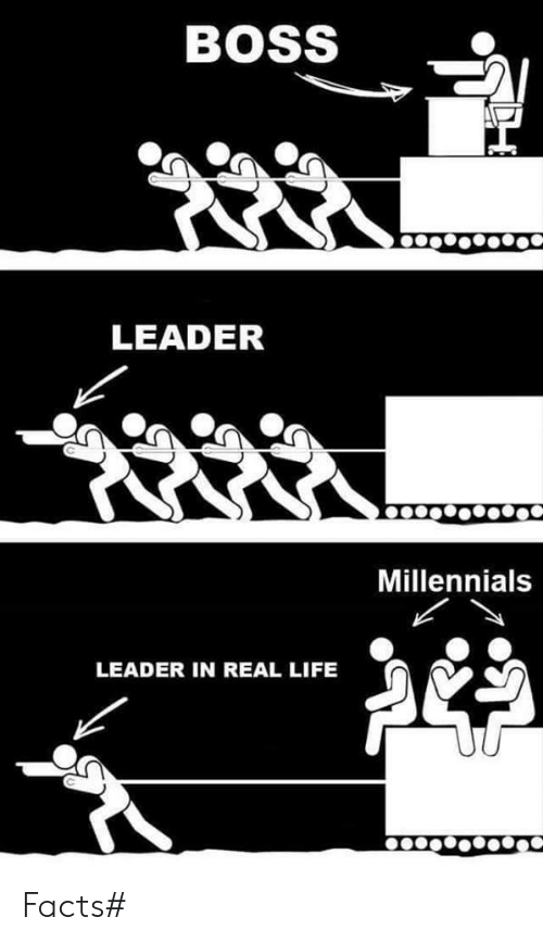 Boss Leader Millennials Leader In Real Life Facts Facts