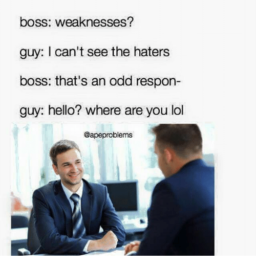 memes and boss boss weaknesses guy i can