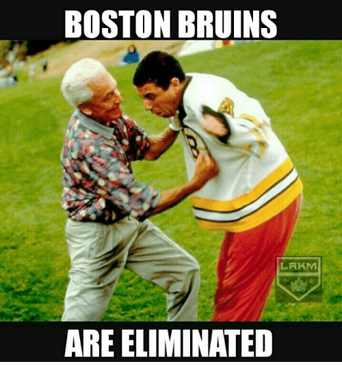 boston bruins lakm are eliminated 19559841 boston bruins lakm are eliminated meme on me me