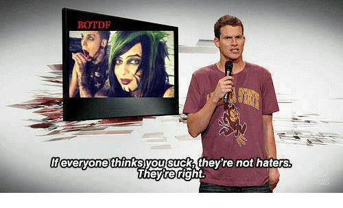 Memes, 🤖, and Botdf: BOTDF  everyone thinks you Suck they re not haters  Theyre right