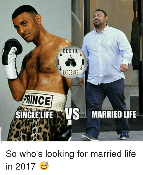 single life and married life