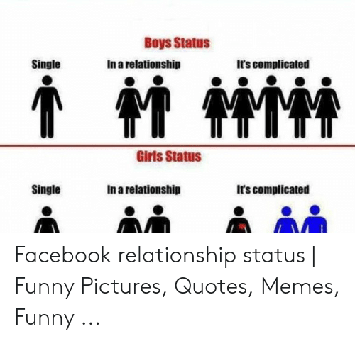 Boys Status Single In A Relationship Its Complicated Girls Status