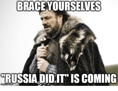 Memes, Braces, and Brace Yourselves: BRACE YOURSELVES  RUSSIA DID,IT IS COMING