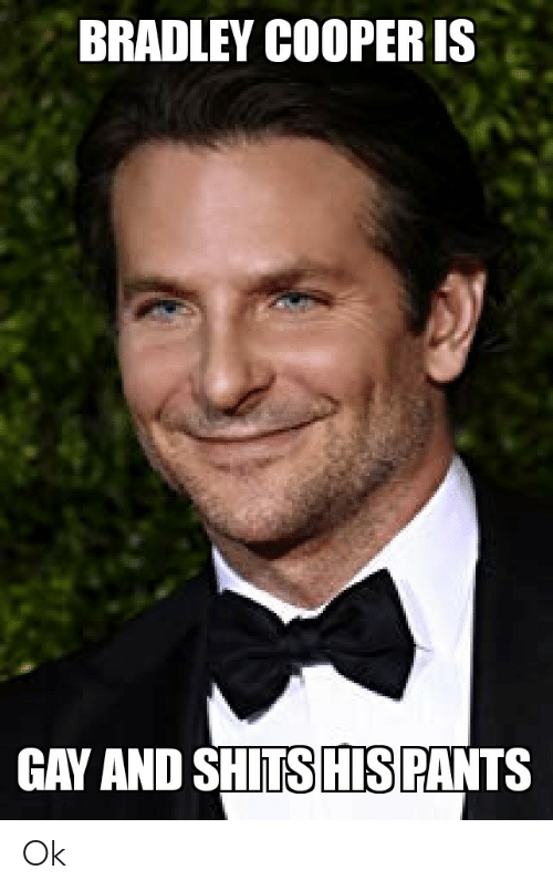 Have removed gay bradley cooper