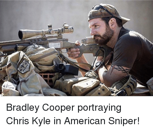 american sniper speech The actor, who starred in the film american sniper back in 2014, was in the crowd wednesday evening for barack obama and bill clinton's speeches he probably didn't expect a camera to cut to .