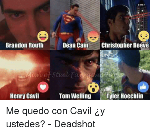 Christopher Reeve Memes And Brandon Routh Dean Cain An Of