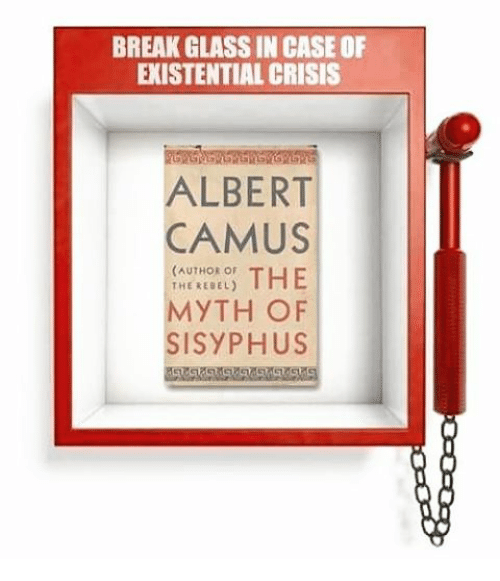 a report on albert camus and existentialism