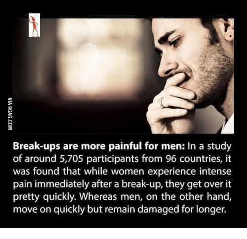 How to get over painful breakup