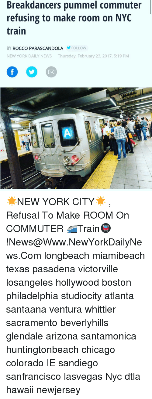 Breakdancers Pummel Commuter Refusing To Make Room On Nyc Train