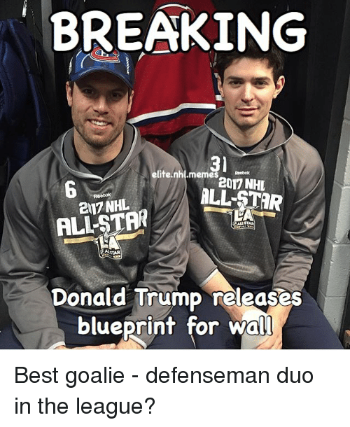 Breaking 3 elite nhlmemes reebok 2017 nhl 217 nhl astar donald donald trump memes and national hockey league nhl breaking 3 malvernweather Image collections